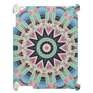 Blom- Mandala för Kaleidoscope i Wien: Ed. 220,9 iPad Mobil Skydd