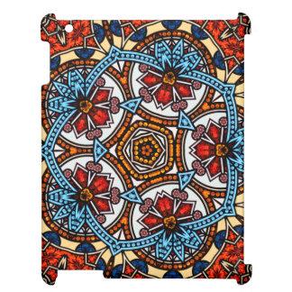 Blom- Mandala för Kaleidoscope i Wien: Ed. 221,8 iPad Mobil Skydd