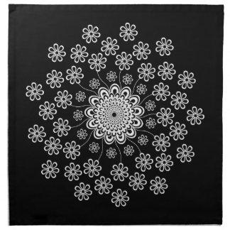 Blom- Mandala Tygservett