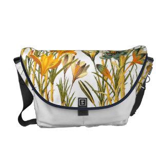 Blom- messenger bag för blommakrokusRickshaw