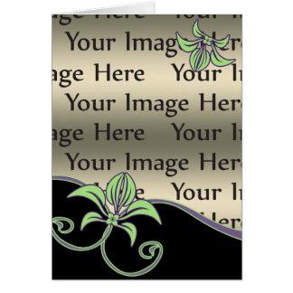 blom- mors dagfotokort hälsningskort