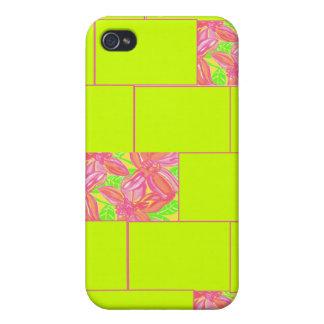 Blom- mosaik iPhone 4 skydd