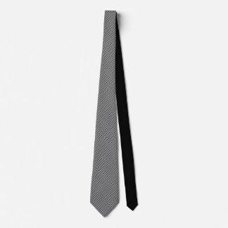 Blom- motiv för grå färg på svart Tie vid Slips