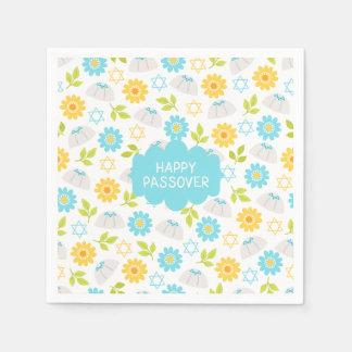 Blom- påskhögtid Sedar för Springtime Pappersservetter