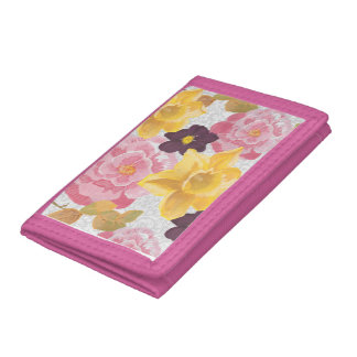 blom- plånbok