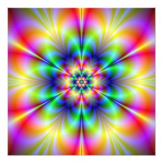 Blom- Psychedeliafototryck