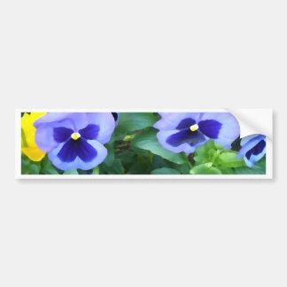 Blom- purpurfärgade blommor för bildekal