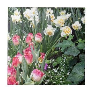 Blom- skönhet kakelplatta
