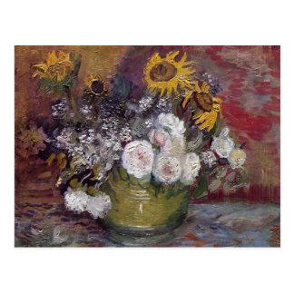 Blom- stilleben för Impressionist - Vincent Van Vykort