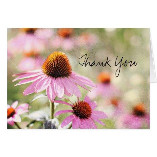 Blom- tackkort hälsningskort