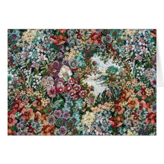 Blom- Tapestry Hälsningskort