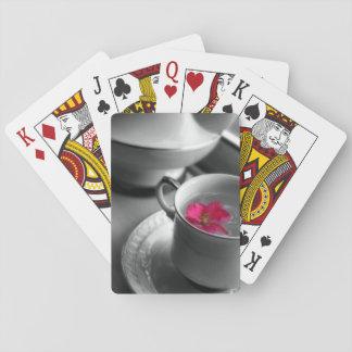 Blom- Tea Spel Kort