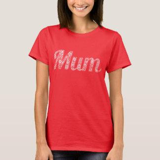 Blom- text för morsaT-tröjavit Tshirts