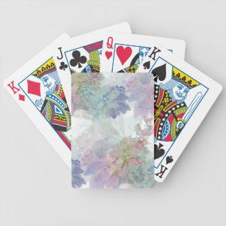 Blom- themed leka kort spelkort