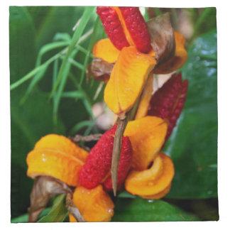 Blom- trasaservetter tygservett