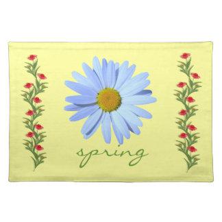 Blom- vårpåskbordstablett bordstablett