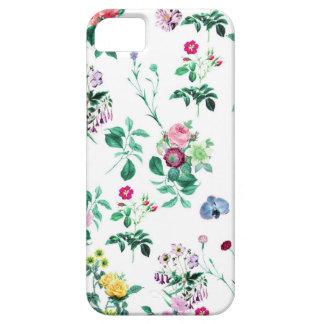 Blom- vit iPhone 5 Case-Mate skydd