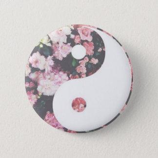 Blom- Yin Yang Standard Knapp Rund 5.7 Cm