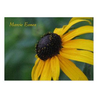 Blomma 005 set av breda visitkort