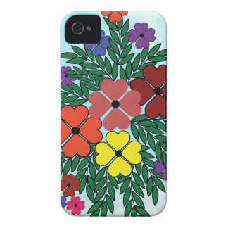 blomma 7 iPhone 4 Case-Mate fodral
