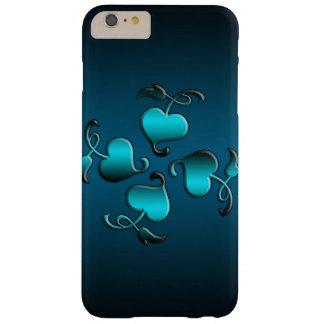 Blomma av det mobila fodral för hjärtor barely there iPhone 6 plus skal