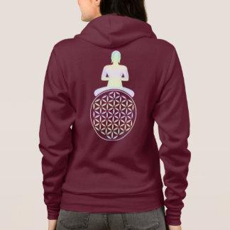 Blomma av liv-/Blume des Lebens - Buddha Tee Shirts
