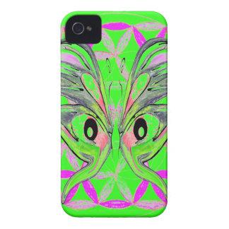 Blomma av livfjärilsanslutning Case-Mate iPhone 4 fodraler