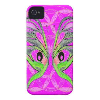 Blomma av livfjärilsanslutning Case-Mate iPhone 4 skal