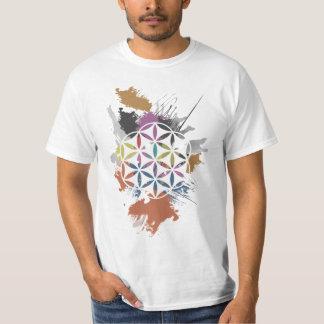 Blomma av livGrungemålning Tee Shirts