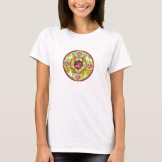 Blomma av medkänsla tee shirts