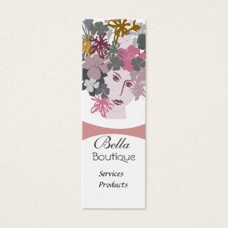 Blomma blom- konstnär för Makeup för Litet Visitkort