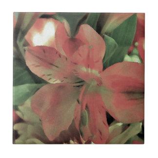 Blomma blomma kakelplatta