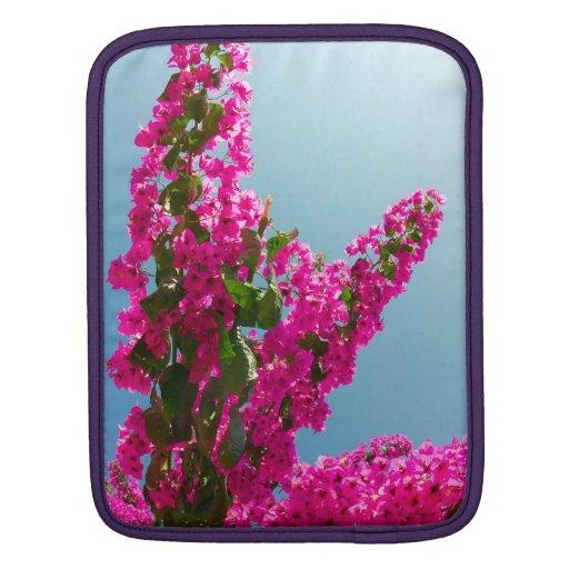 Blomma bougainvillea iPad sleeve