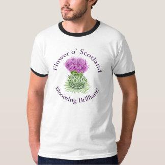 Blomma briljant skotsk Thistle Tröjor