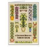 Blomma födelsedagkort hälsningskort