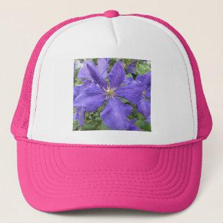Blomma för Clematislilagrönt Truckerkeps