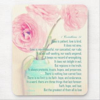 blomma för ranunculus för Corinthians 13 för Musmatta