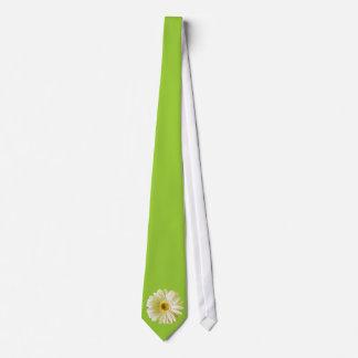 Blomma för vitGerberadaisy Slips