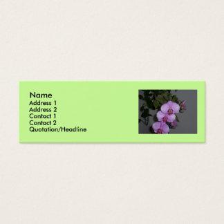 Blomma… Litet Visitkort