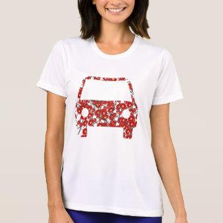 Blomma-mönstrade bilT-tröja T-shirts