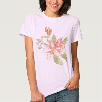 Blomma och knopp tee shirts