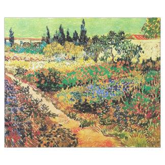Blomma trädgården med vägen av Vincent Van Gogh. Presentpapper