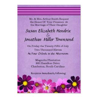Blommabröllopinbjudningar 12,7 X 17,8 Cm Inbjudningskort