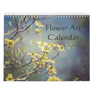 Blommakonstkalender Kalender