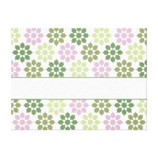 Blommamönsterkanvastrycket, skräddarsy canvastryck