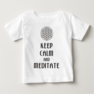 Blomman av liv - BEHÅLLALUGN och MEDITERAR T Shirts
