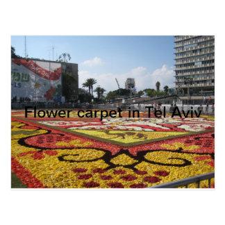 Blomman mattar i Tel Aviv Vykort