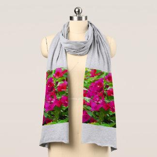 Blommar blommönsternaturen sjal