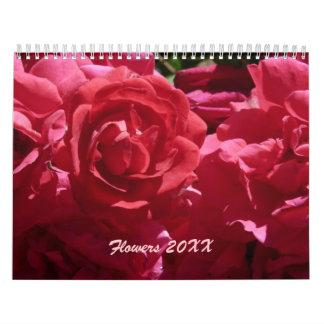 Blommar kalendern 20XX Kalender