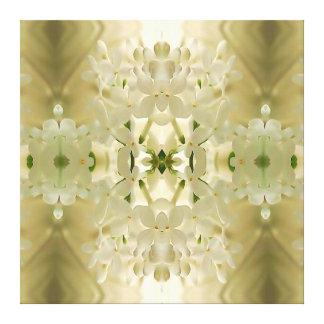 """Blommarbukett"" Mandala Canvastryck"